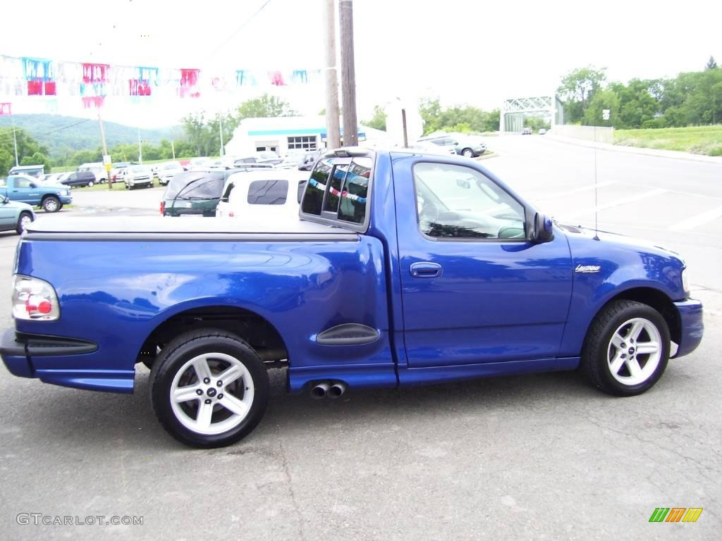 Sonic Blue Metallic 2003 Ford F150 SVT Lightning Exterior Photo 13326568