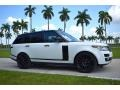 2017 Fuji White Land Rover Range Rover Supercharged  photo #2