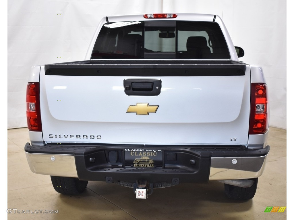 2013 Silverado 1500 LT Crew Cab 4x4 - Silver Ice Metallic / Ebony photo #3