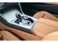 2019 BMW 8 Series Cognac Interior Transmission Photo
