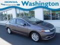 Alabaster Silver Metallic 2012 Honda Civic EX Sedan