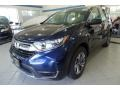 2019 Obsidian Blue Pearl Honda CR-V LX AWD  photo #1