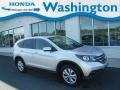 2012 Alabaster Silver Metallic Honda CR-V EX 4WD  photo #1