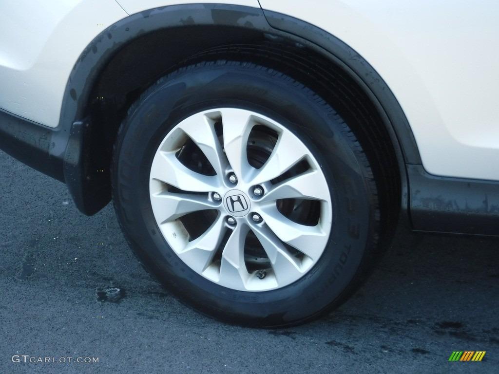 2012 CR-V EX 4WD - Alabaster Silver Metallic / Gray photo #3