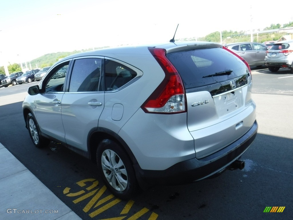 2012 CR-V EX 4WD - Alabaster Silver Metallic / Gray photo #7