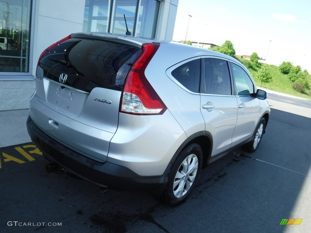 2012 CR-V EX 4WD - Alabaster Silver Metallic / Gray photo #9