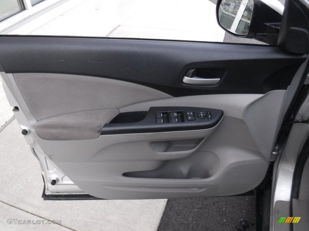 2012 CR-V EX 4WD - Alabaster Silver Metallic / Gray photo #13