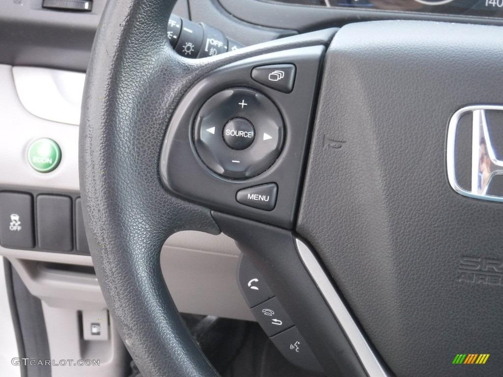 2012 CR-V EX 4WD - Alabaster Silver Metallic / Gray photo #21