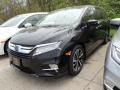 Crystal Black Pearl 2019 Honda Odyssey Elite