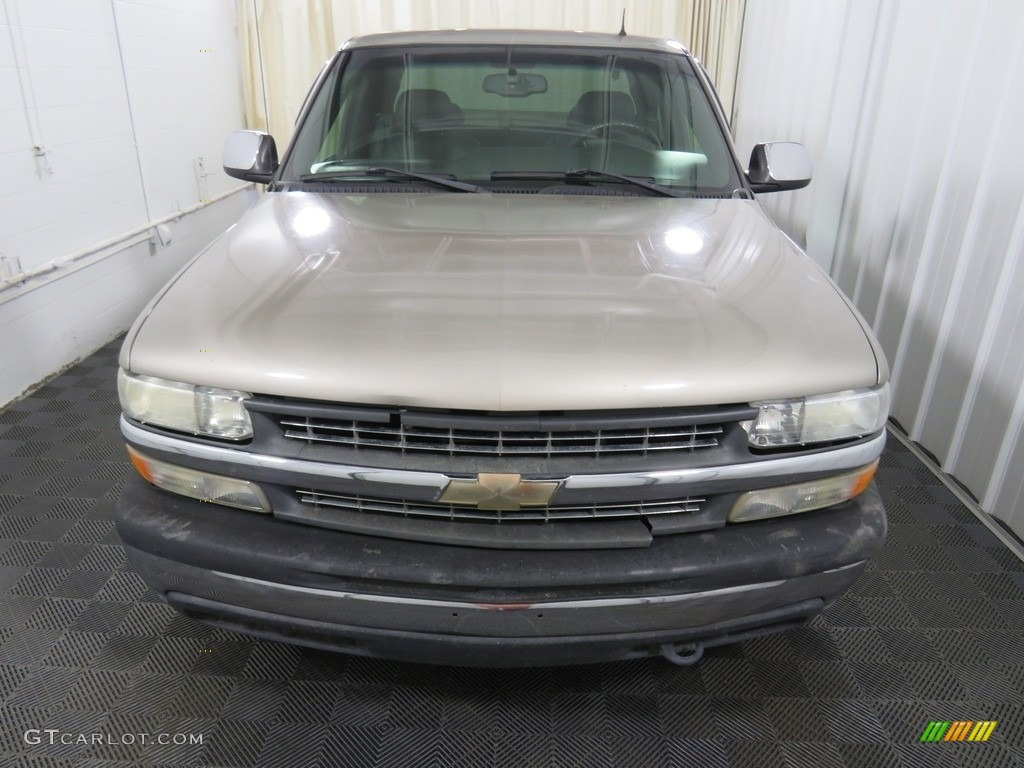 2002 Silverado 1500 LT Extended Cab 4x4 - Medium Charcoal Gray Metallic / Graphite Gray photo #4