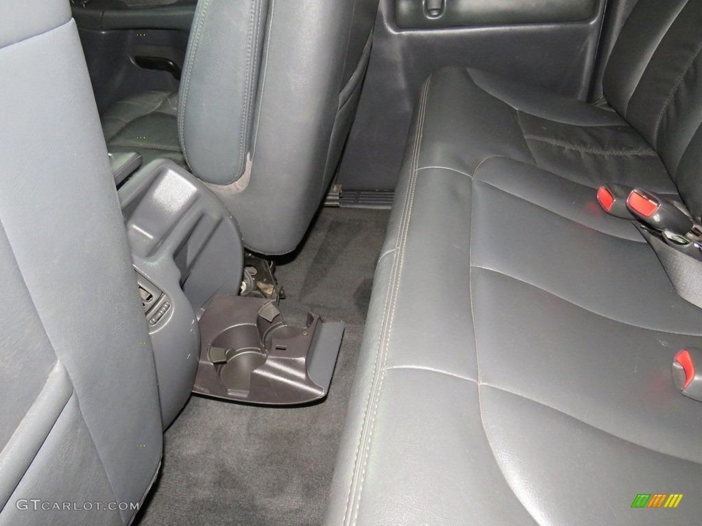 2002 Silverado 1500 LT Extended Cab 4x4 - Medium Charcoal Gray Metallic / Graphite Gray photo #21