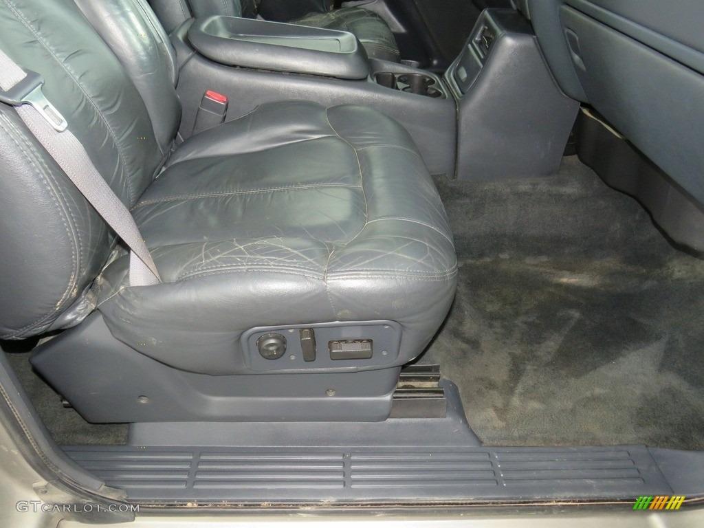 2002 Silverado 1500 LT Extended Cab 4x4 - Medium Charcoal Gray Metallic / Graphite Gray photo #23