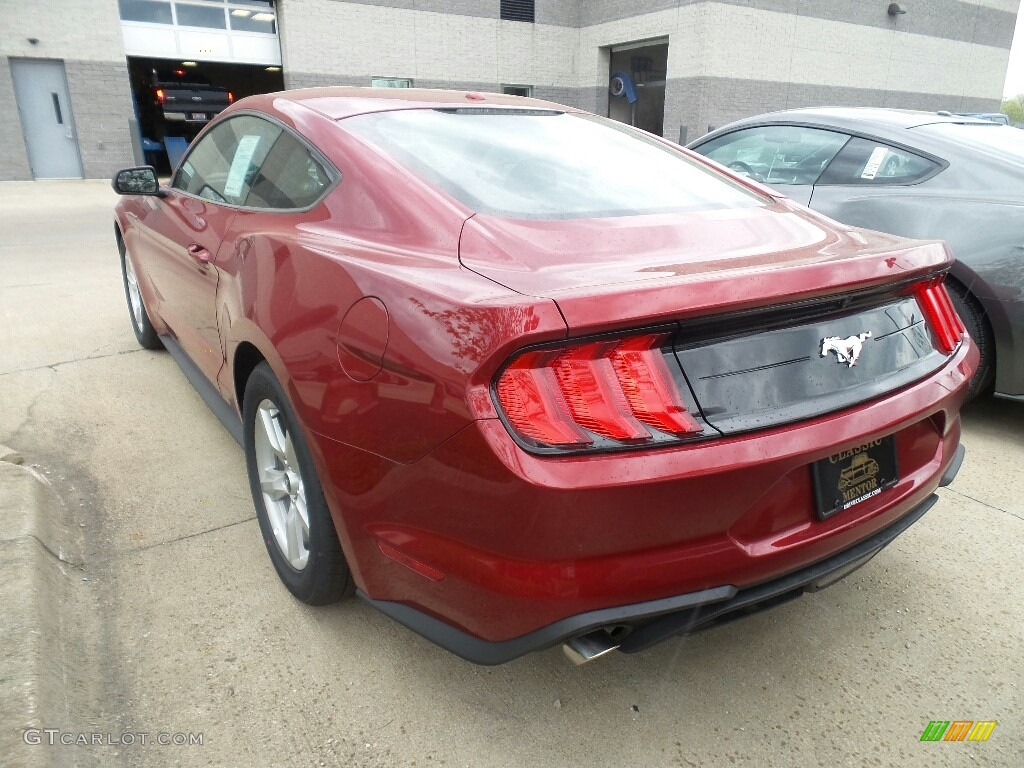 2019 Mustang EcoBoost Fastback - Ruby Red / Ebony photo #3
