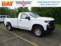 2019 Summit White Chevrolet Silverado 1500 WT Regular Cab 4WD #133287389