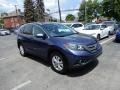 2014 Twilight Blue Metallic Honda CR-V EX-L AWD  photo #1