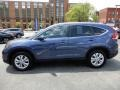 2014 Twilight Blue Metallic Honda CR-V EX-L AWD  photo #4