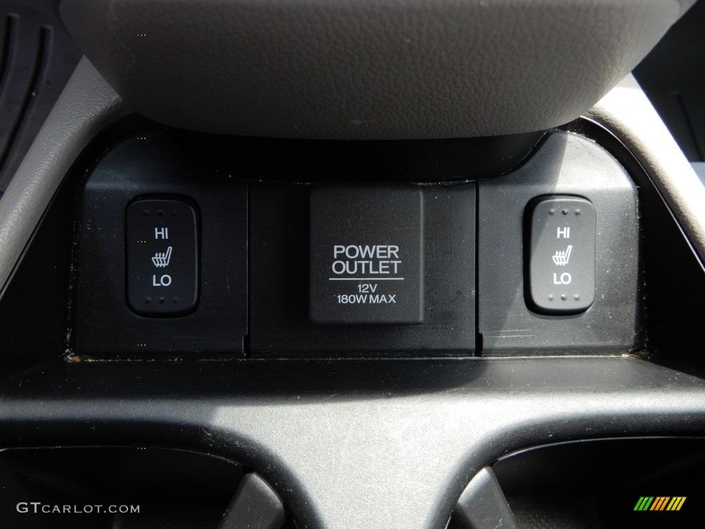 2014 CR-V EX-L AWD - Twilight Blue Metallic / Gray photo #23