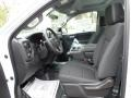 Jet Black Front Seat Photo for 2019 Chevrolet Silverado 1500 #133301700