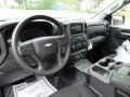 Jet Black Dashboard Photo for 2019 Chevrolet Silverado 1500 #133301739