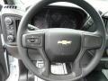 Jet Black Steering Wheel Photo for 2019 Chevrolet Silverado 1500 #133301790