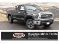 Midnight Black Metallic 2019 Toyota Tundra Limited Double Cab 4x4