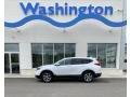 Platinum White Pearl 2019 Honda CR-V EX-L AWD