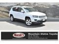 Bright White 2014 Jeep Compass Latitude 4x4