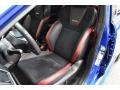 Carbon Black Front Seat Photo for 2018 Subaru WRX #133331571
