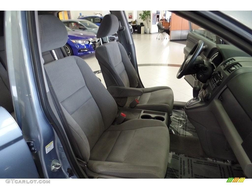 2009 CR-V EX 4WD - Glacier Blue Metallic / Gray photo #20