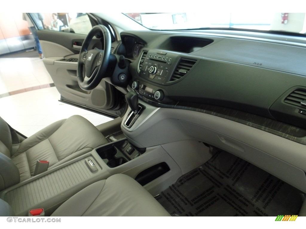 2013 CR-V EX-L AWD - Polished Metal Metallic / Gray photo #19