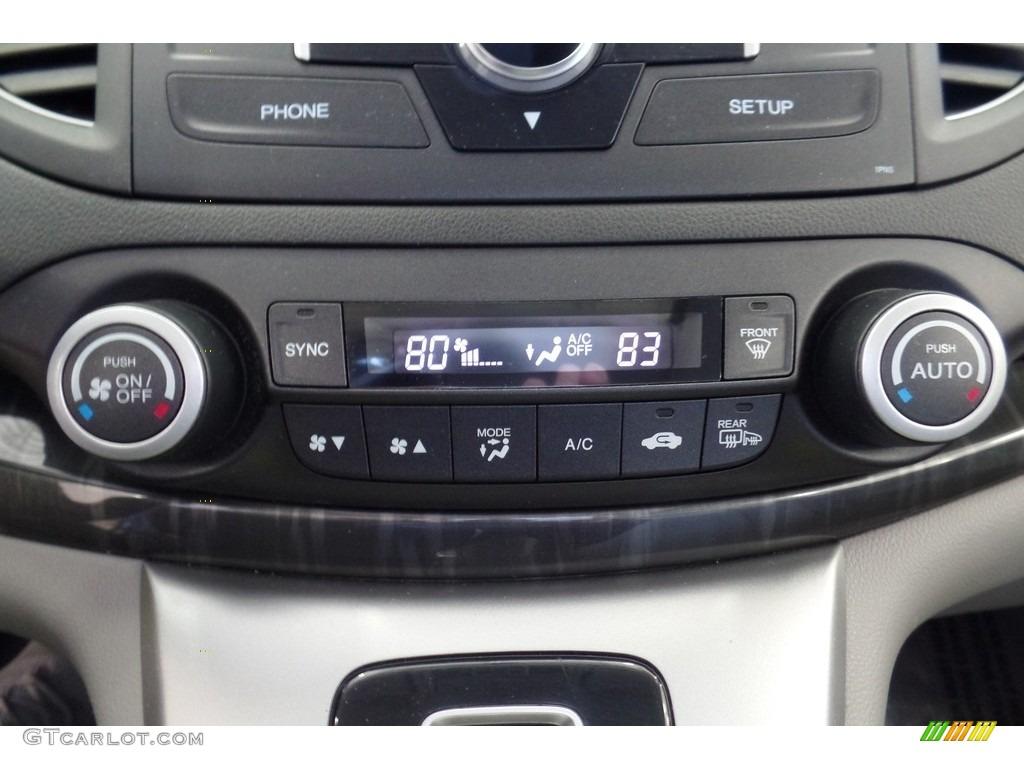 2013 CR-V EX-L AWD - Polished Metal Metallic / Gray photo #27
