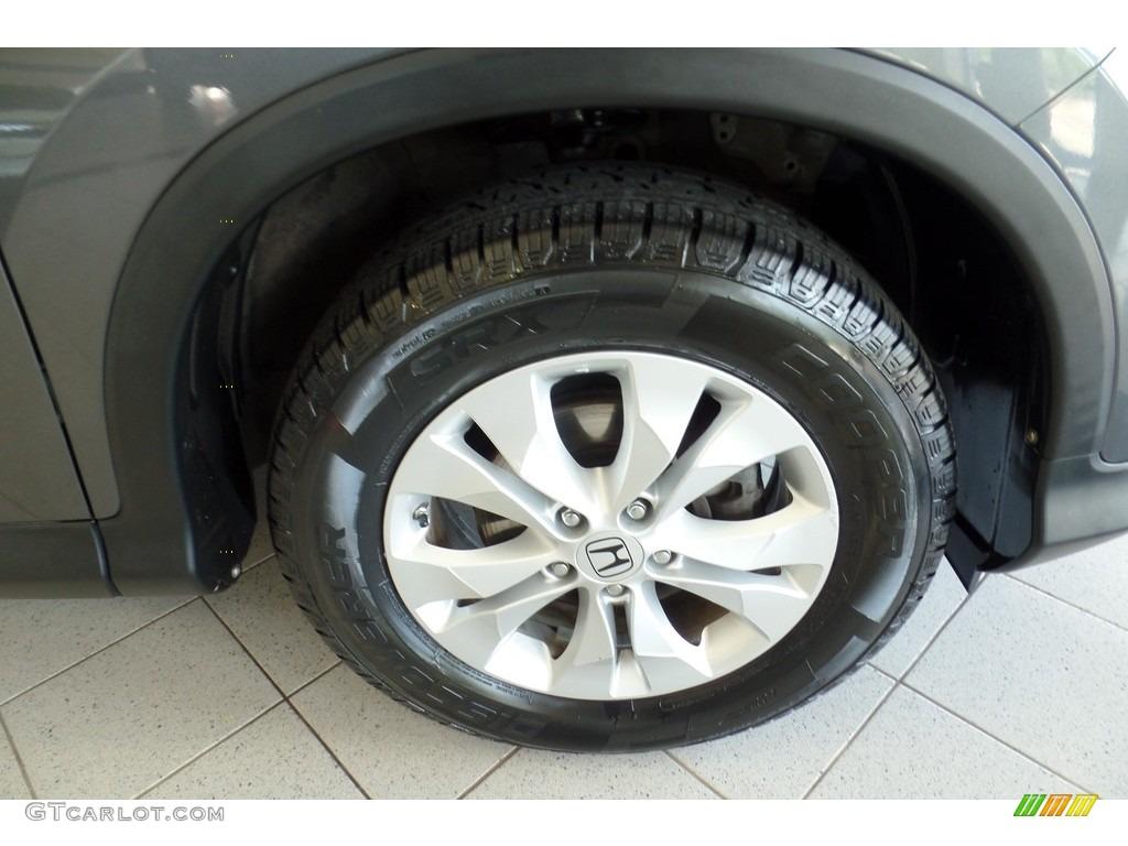 2013 CR-V EX-L AWD - Polished Metal Metallic / Gray photo #37