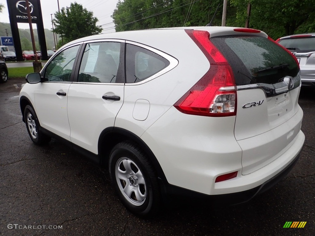 2016 CR-V LX AWD - White Diamond Pearl / Beige photo #3