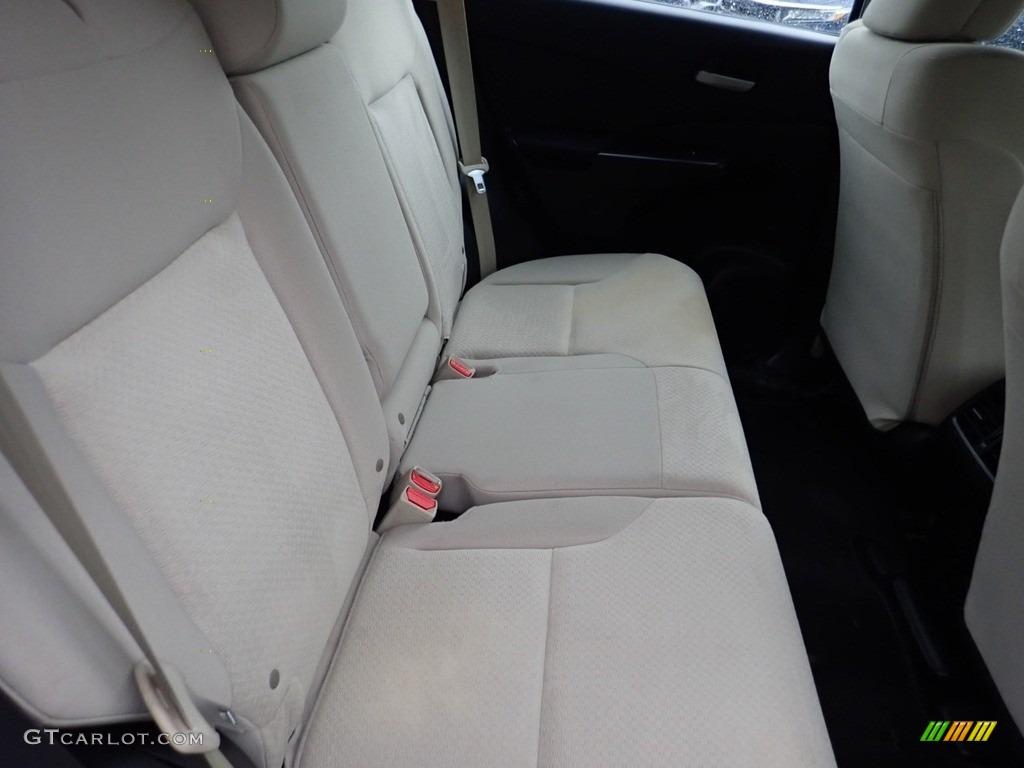 2016 CR-V LX AWD - White Diamond Pearl / Beige photo #14
