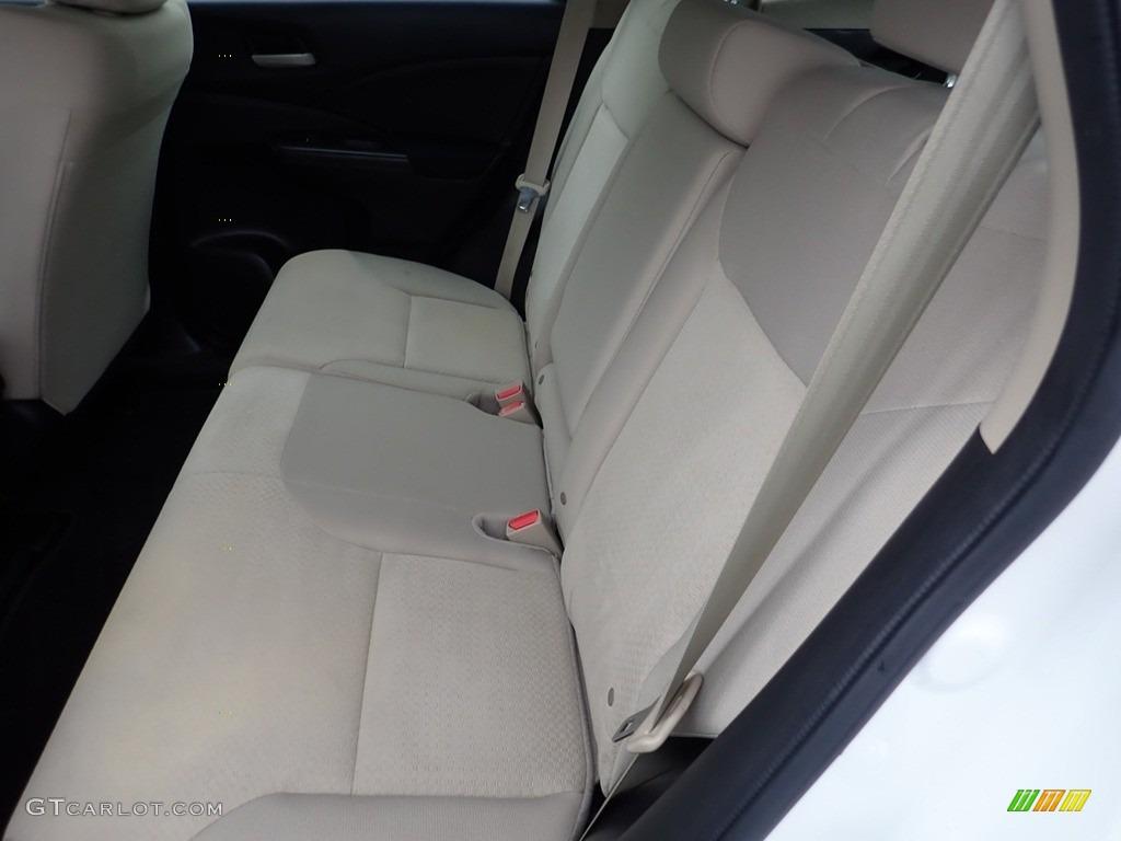 2016 CR-V LX AWD - White Diamond Pearl / Beige photo #16