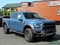 2019 Performance Blue Ford F150 SVT Raptor SuperCrew 4x4  photo #7