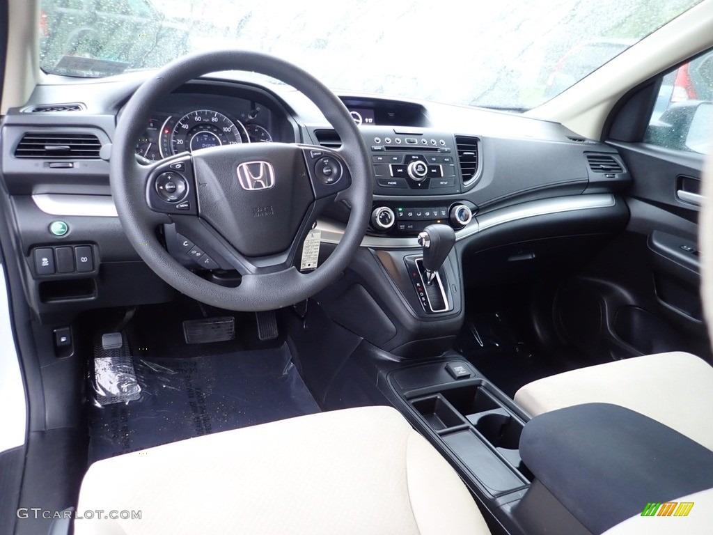 2016 CR-V LX AWD - White Diamond Pearl / Beige photo #17