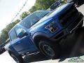 2019 Performance Blue Ford F150 SVT Raptor SuperCrew 4x4  photo #38