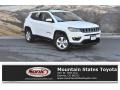 Bright White 2017 Jeep Compass Latitude 4x4
