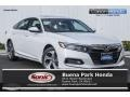 Platinum White Pearl 2019 Honda Accord EX-L Sedan