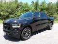 Diamond Black Crystal Pearl - 1500 Laramie Crew Cab 4x4 Photo No. 2