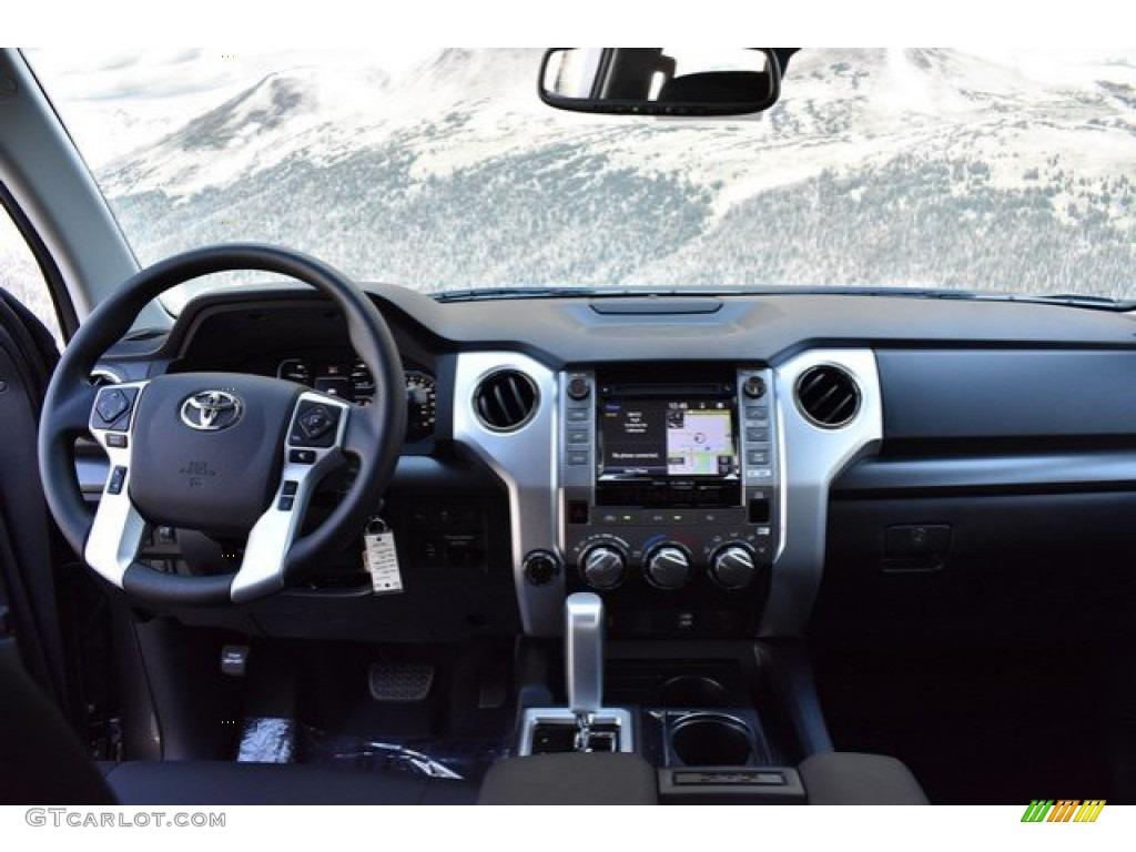 2019 Tundra SR5 Double Cab 4x4 - Magnetic Gray Metallic / Black photo #7