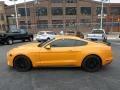 2018 Orange Fury Ford Mustang GT Premium Fastback  photo #5