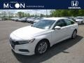 Platinum White Pearl 2019 Honda Accord LX Sedan