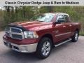 Deep Cherry Red Pearl 2013 Ram 1500 SLT Quad Cab 4x4