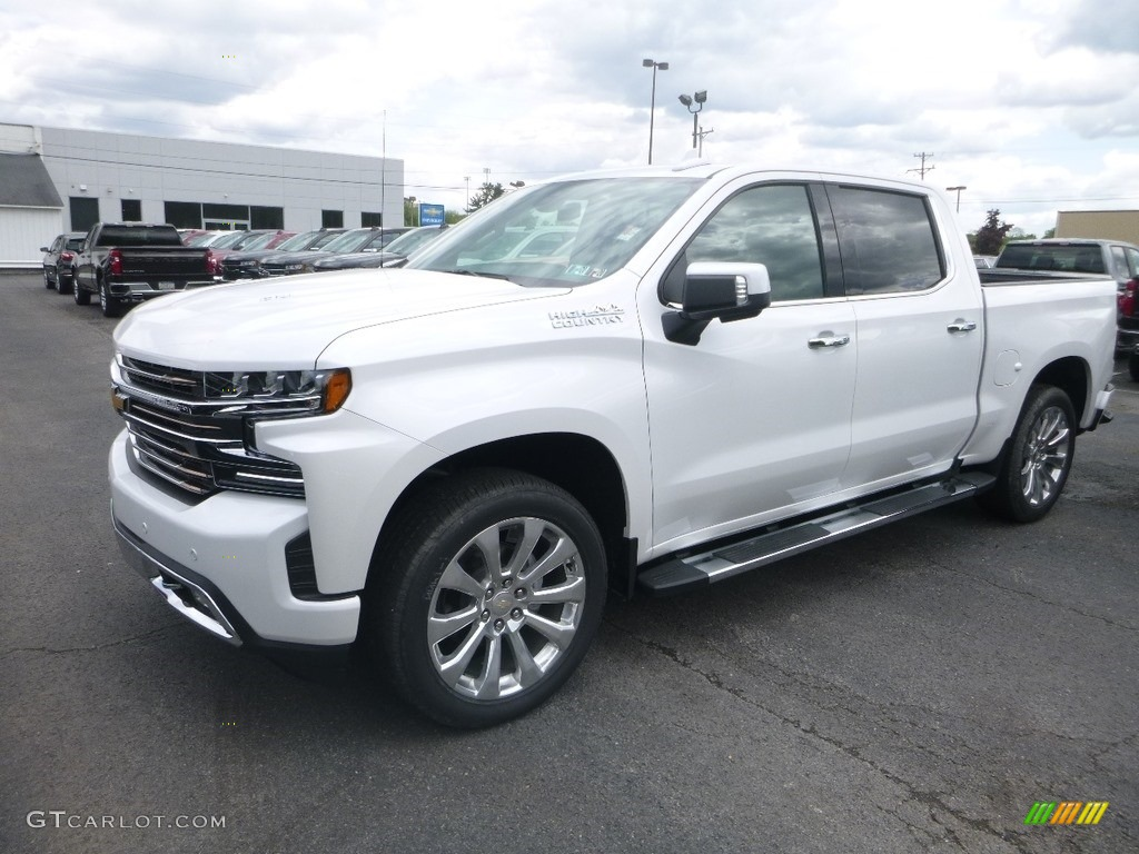 2019 Silverado 1500 High Country Crew Cab 4WD - Iridescent Pearl Tricoat / Jet Black/Umber photo #1