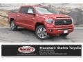 2019 Barcelona Red Metallic Toyota Tundra Platinum CrewMax 4x4  photo #1