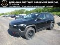 Diamond Black Crystal Pearl 2019 Jeep Cherokee Trailhawk 4x4