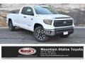 2019 Super White Toyota Tundra TRD Off Road Double Cab 4x4 #133417756