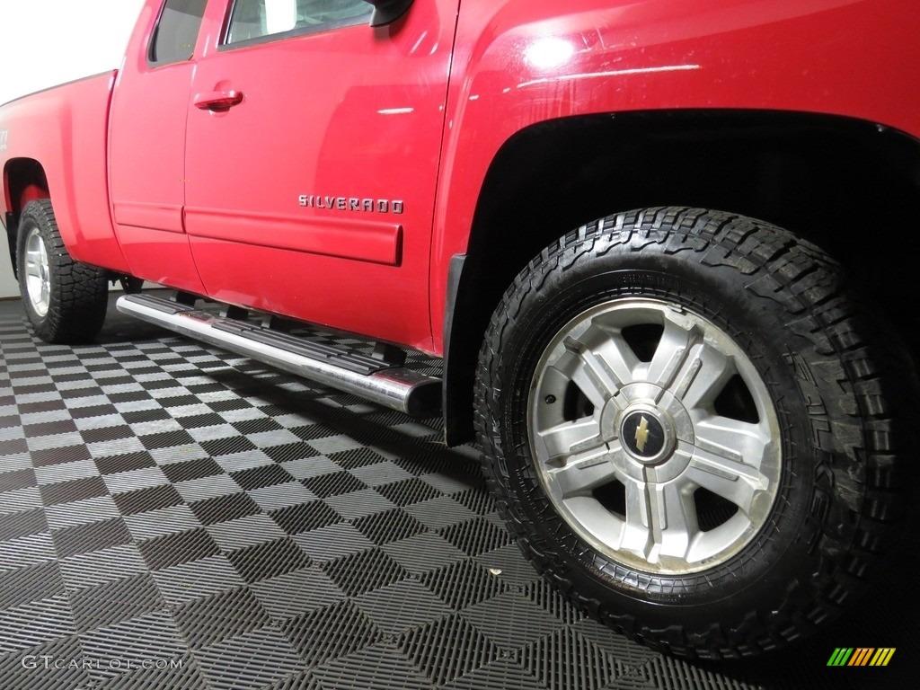 2012 Silverado 1500 LT Extended Cab 4x4 - Victory Red / Ebony photo #3